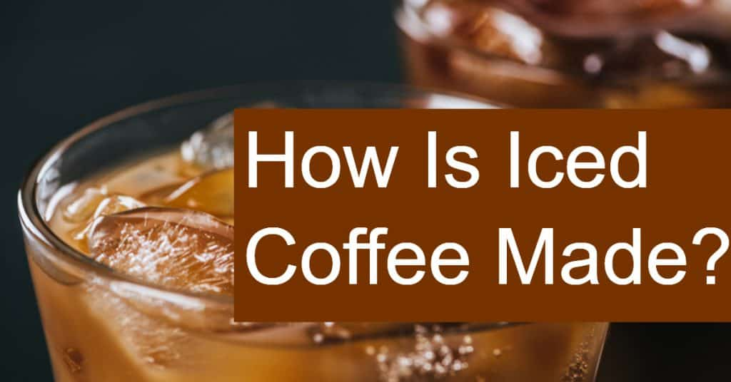 How do you make iced coffee? Is it just pouring a cup of hot joe over ice cubes?