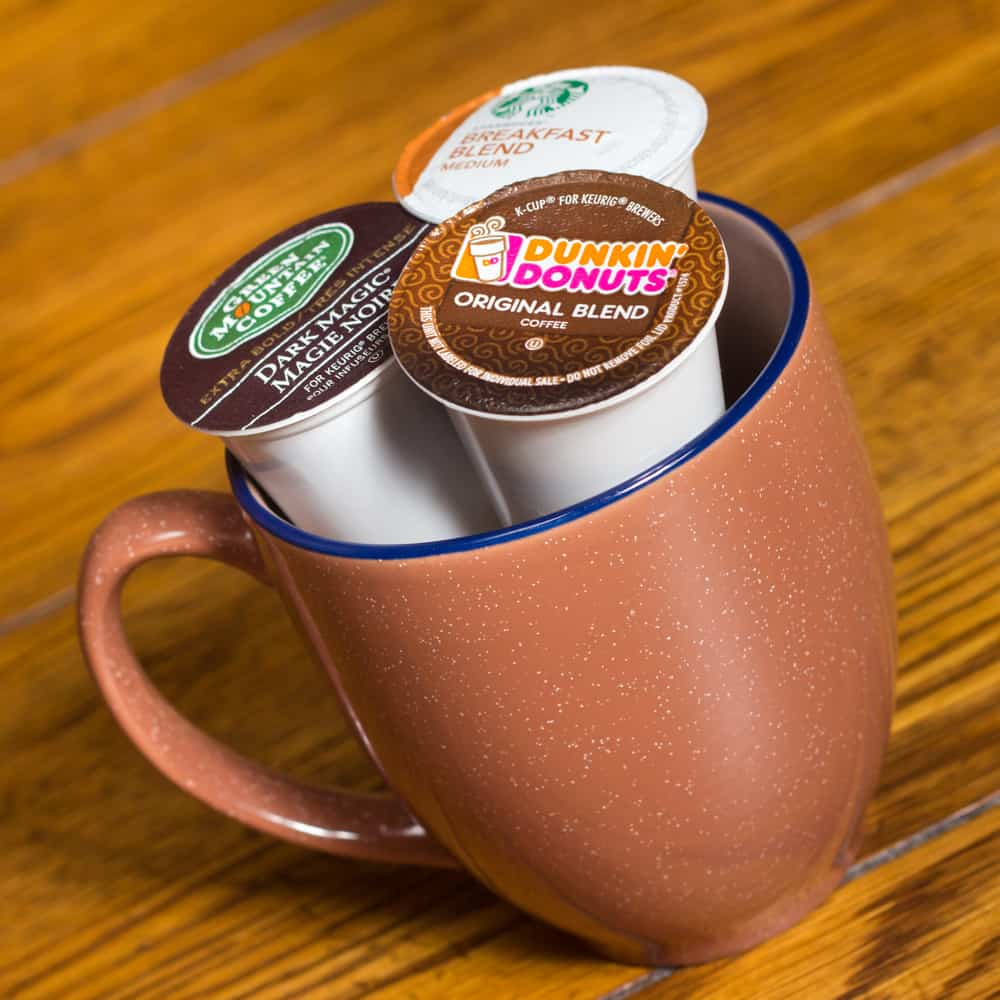 How much coffee is in a Keurig K-Cup