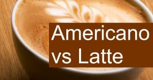 Comparing Cafe Latte and Americano - How are they different?