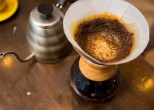 Delicious Coffee made pour over style