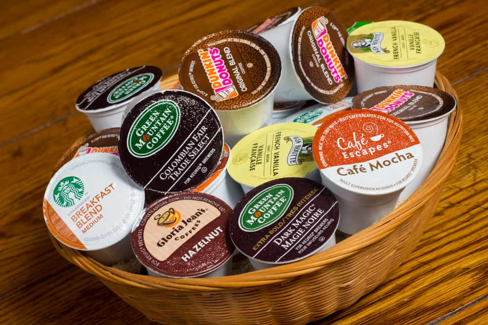 Keurig K-Cups ready for brewing