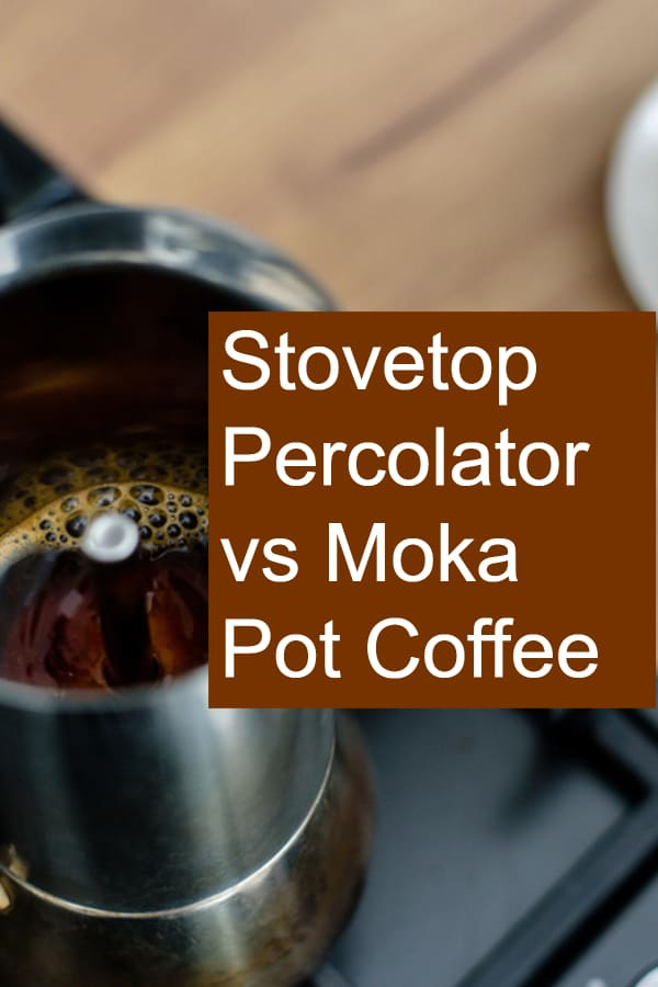 Stovetop or Electric Percolator vs Moka Pot - Which coffee is better?