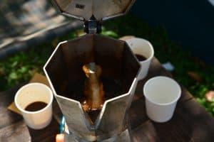 Using a Moka Pot or Stovetop Percolator