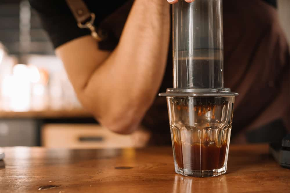 AeroPress coffee or Pour-Over