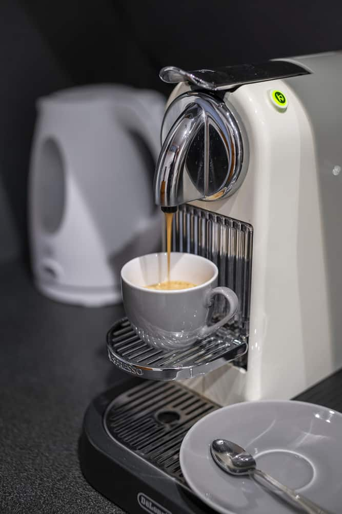 Delonghi Nespresso coffee maker