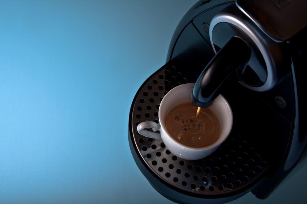 Nespresso coffee brewer