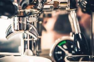 Brew espresso with a DeLonghi Espresso maker