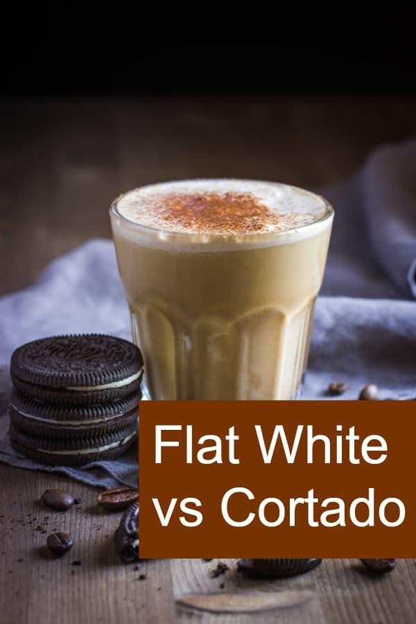 Comparison of Flat White and Cortado