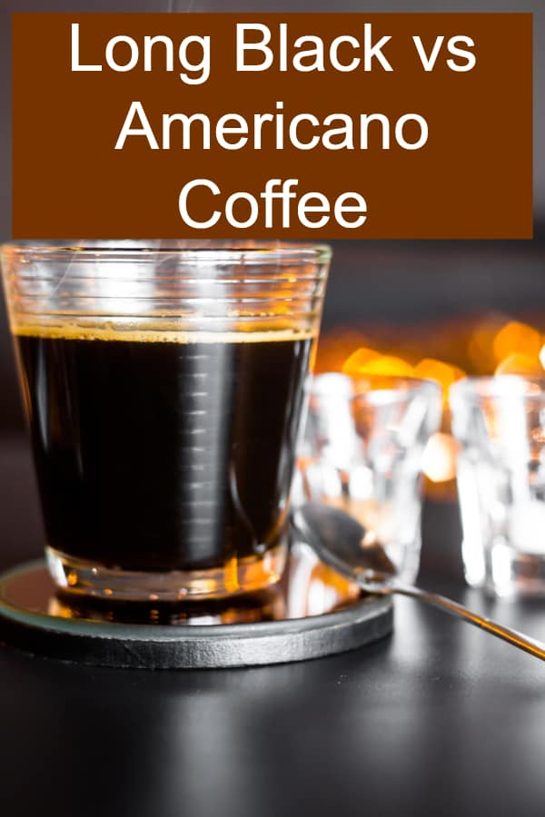 Outlining the differences and similarities when comparing Long Black vs Americano Coffee